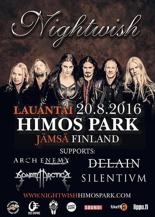 Delain returns to finland for himos park