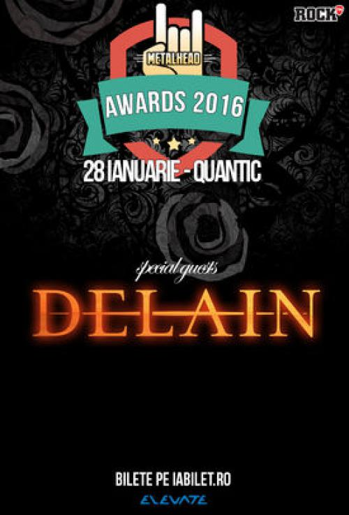 Delain to perform at Metalhead Awards