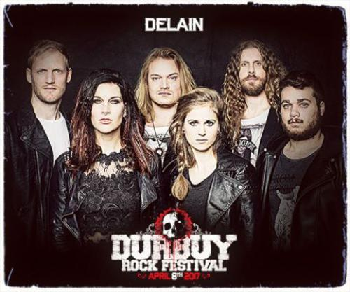 Delain performs at Durbuy Rock 2017