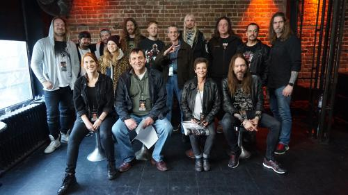VIP Photos DELAIN & HAMMERFALL US tour