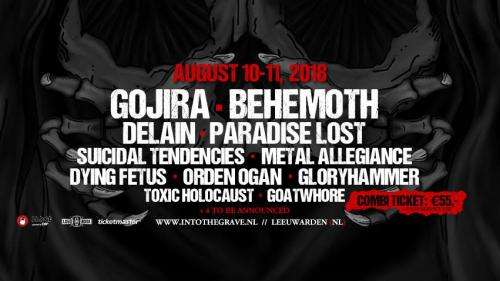 Delain confirmed for Into The Grave festival 2018