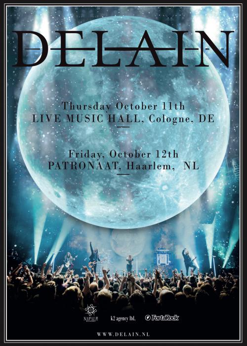 DELAIN Invites you to two EXCLUSIVE headline shows