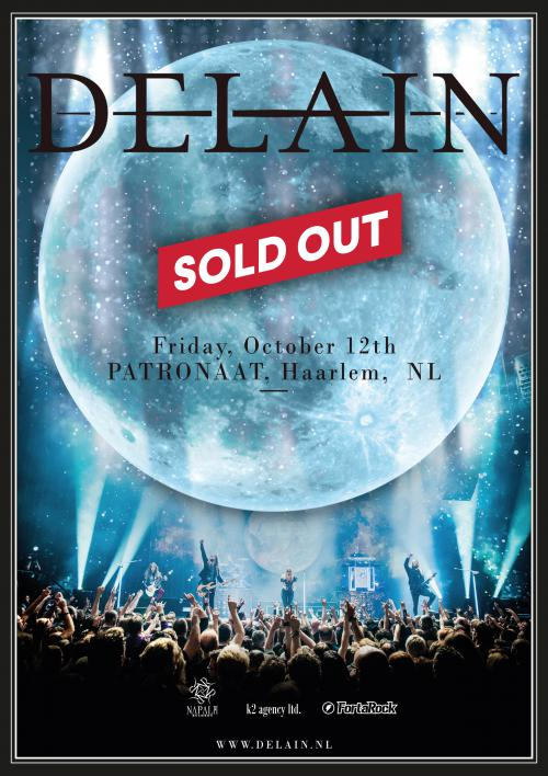 Special Show at Patronaat SOLD OUT