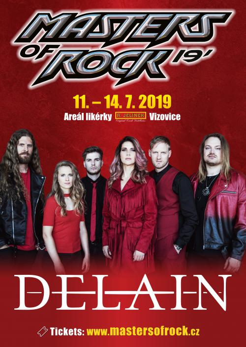 Delain confirmed or Masters of Rock 2019
